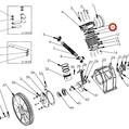 Jazýček (2 ks) pro ventilovou desku LB 50, LB 75