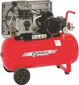 Dvoupístový kompresor Remeza 250 l/min, vzdušník 50 l, výkon 1,5 kW