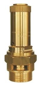 """Pojistný ventil Herose G 1/2"""", průtok 7 mm, tlak 2,8 bar"""