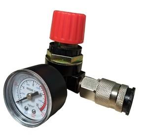"""Regulátor tlaku 1/4"""" s manometrem"""