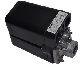 Tlakový spínač pro šroubové kompresory Condor MDR 53/16 - 1/2, 16 bar, 10A - 230 V.