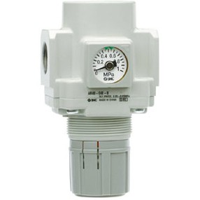 "Regulátor tlaku SMC 3/4"" vč. manometru"