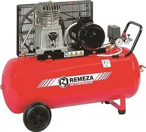 Dvoupístový kompresor Remeza 360 l/min, vzdušník 100 l
