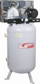 Dvoupístový kompresor AirCast 420 l/min, vzdušník 100 l