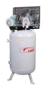 Třípístový kompresor AirCast 580 l/min, vzdušník 100 l