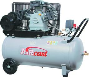 Třípístový kompresor AirCast 580 l/min, vzdušník 50 l