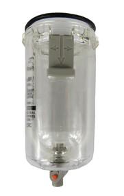 Polykarbonátová jímka pro AF/AW30, ruční odlučovač s ochranným krytem
