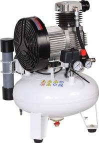 Pístový kompresor Remeza s membránovou sušičkou, 150 l/min, vzdušník 24 l