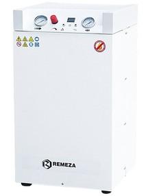 Tichý pístový bezolejový kompresor Remeza, 70 l/min, vzdušník 24 l
