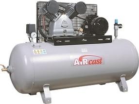 Dvoupístový kompresor AirCast 690 l/min, vzdušník 270 l
