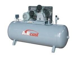 Třípístový kompresor AirCast 950 l/min, vzdušník 270 l