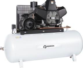 Pístový bezolejový kompresor Remeza, 1120 l/min, vzdušník 500 l