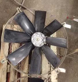 Ventilátor 3 kW - po repasi