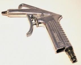 Ofukovací pistole - hliník