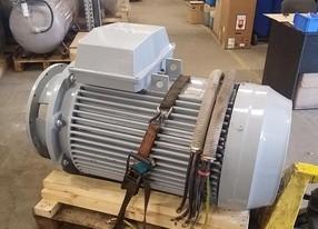 Motor 132 kW - po repasi