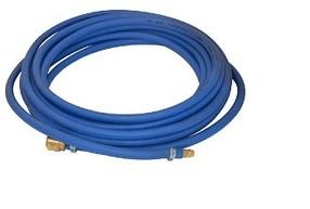 Přímá PVC hadice s opletem osazena- 1016 - 15m