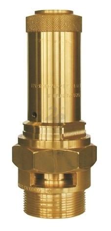 """Pojistný ventil Herose G 3/8"""", průtok 7 mm"""