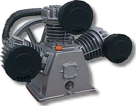 Blok pístového kompresoru LB 75; Parametry: 10 bar, 880 l/min, 5,5 Kw