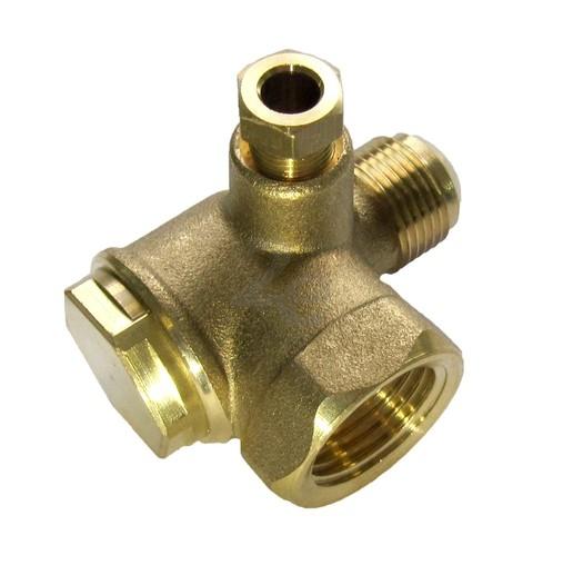 """Zpětný ventil 1/2"""" x 3/8"""" (vnitřní/vnější)"""