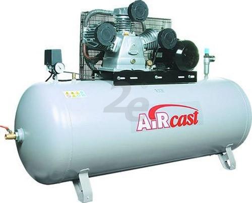 Pístový kompresor AirCast, 950 l/min, vzdušník 100 l