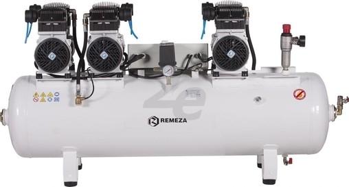 Tichý šestipístový kompresor Remeza, 750 l/min, vzdušník 150 l