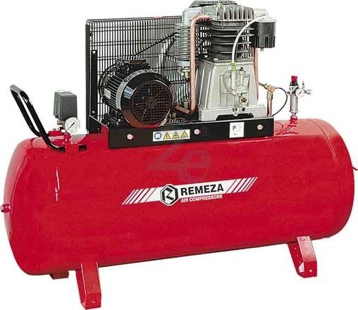 Dvoupístový kompresor Remeza 15 bar, 850 l/min, vzdušník 500 l