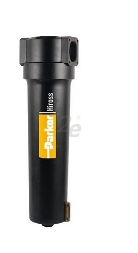 Hyperfiltr HFN022SWD slouží jako submikrofiltr k odstranění nečistot do velikosti 0,1 µm, zbytkový olej do 0,01 mg/m