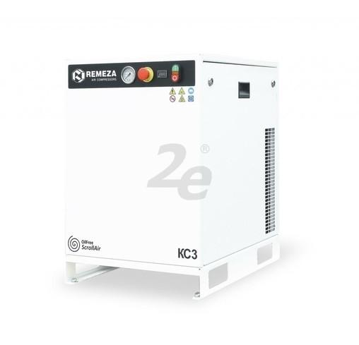 Bezolejový spirálový kompresor Remeza, 410 l/min, výkon 4 kW